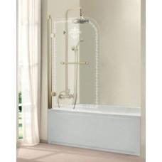 Шторка на ванну Cezares Retro V-1 80/145 CP-G лев/прав