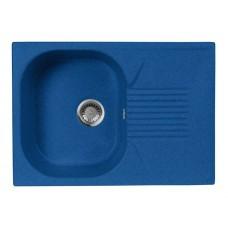 Мойка кухонная AquaGranitEx M-70 (323) синий