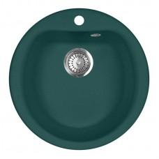 Мойка кухонная AquaGranitEx M-07 (305) зеленый