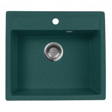 Мойка кухонная AquaGranitEx M-56 (305) зеленый