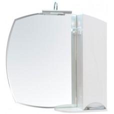 Зеркало Аква Родос Глория 75 левое или правое с подсветкой
