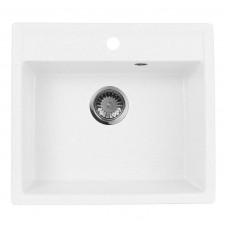 Мойка кухонная AquaGranitEx M-56 (331) белый