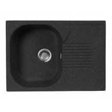 Мойка кухонная AquaGranitEx M-70 (308) черный