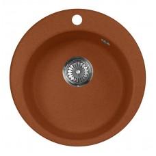 Мойка кухонная AquaGranitEx M-05 (307) терракот