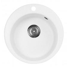 Мойка кухонная AquaGranitEx M-05 (331) белый