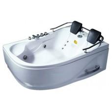 Акриловая ванна Appollo АT-0919 R/L левая/правая, двухместная