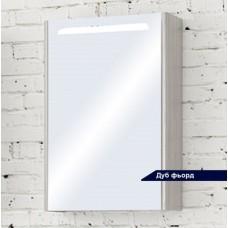 Зеркальный шкаф Акватон Сильва 50 дуб фьорд