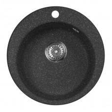 Мойка кухонная AquaGranitEx M-05 (308) черный