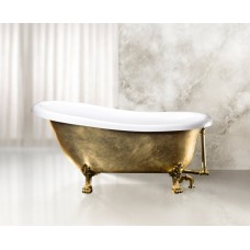 Акриловая ванна BelBagno BB04-ORO/BIA золото