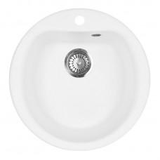 Мойка кухонная AquaGranitEx M-07 (331) белый