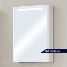Зеркальный шкаф Акватон Сильва 50 дуб полярный