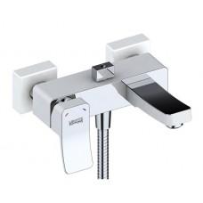 Смеситель Wasser Kraft Aller 1061 white для ванны