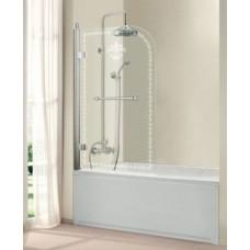 Шторка на ванну Cezares Retro V-1-80/145-CP-Cr лев/прав