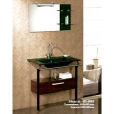 Мебель Nautico-Lux 4H-8043 cтеклянный моноблок