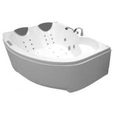 Акриловая ванна Thermolux Infinity Love гидромассаж, аэромассаж, спинной, хромотерапия, панель