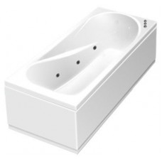 Акриловая ванна Thermolux Leda 170 гидромассажная с панелью