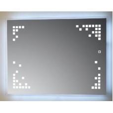 Зеркало Crocus YJ-1996H с сенсорной LED подсветкой