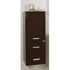 Мебель Акватон Америна шкаф-полуколонна подвесная, т.-коричневая