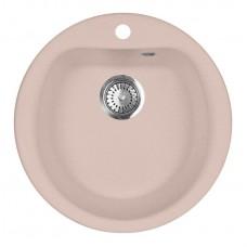 Мойка кухонная AquaGranitEx M-07 (315) розовый