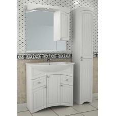 АСБ-Мебель Лилия 80 лайн комплект, белый глянец