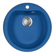 Мойка кухонная AquaGranitEx M-07 (323) синий