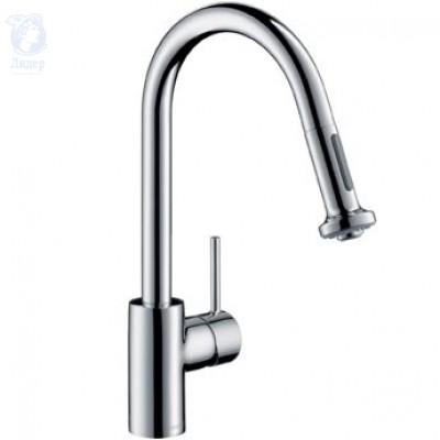 Смеситель Hansgrohe Talis S2 Variarc 14877000 для кухни с выдвижным душем
