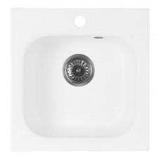 Мойка кухонная AquaGranitEx M-43 (331) белый