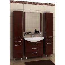 Мебель Акватон Ария 80 H тумба-умывальник, коричневая