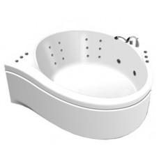 Акриловая ванна Thermolux Infinity Life гидромассаж, спинной, панель