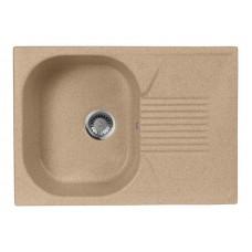 Мойка кухонная AquaGranitEx M-70 (302) песочный