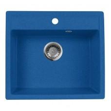 Мойка кухонная AquaGranitEx M-56 (323) синий