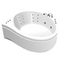 Акриловая ванна Thermolux Infinity Life гидромассаж, спинной, хромотерапия, панель