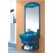 Мебель Nautico-Lux 4A 5006В cтеклянный моноблок