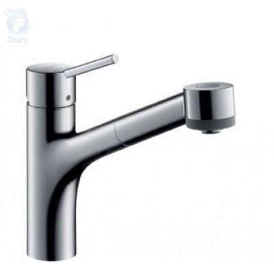 Смеситель Hansgrohe Talis S 32841000 для кухни с выдвижным душем