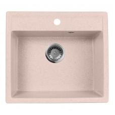 Мойка кухонная AquaGranitEx M-56 (315) розовый
